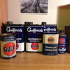 Gulf Outboard Motor Oil Cans, Polishing Cloth, Brake Fluid, Bearing Grease