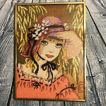 Another Beautiful Vintage Needlepoint