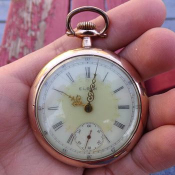 What Year on This Elgin?  - Pocket Watches