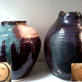 "Lois Van Vleet Pottery Collection ""Plus Two"" / Circa 21st Century - Pottery"
