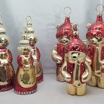 Totally Stumped!! Christmas Ornaments - Christmas
