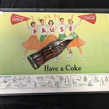 Coca Cola football advertising Referee signals  - Coca-Cola