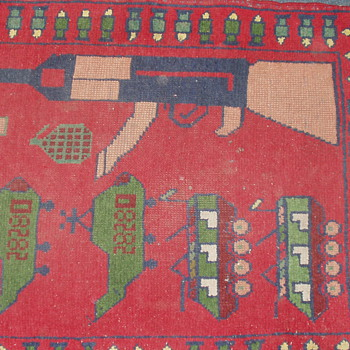 Afgan war rug - Rugs and Textiles