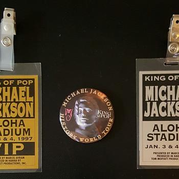 Michael Jackson's History World Tour. (Hawaii)