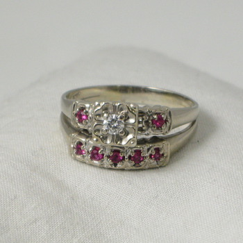 1940s Engagement Ring Set - Fine Jewelry
