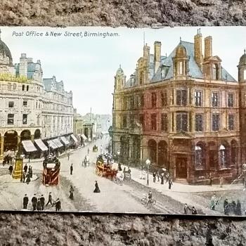 Old birmingham postcards, 15th July 1907. - Postcards