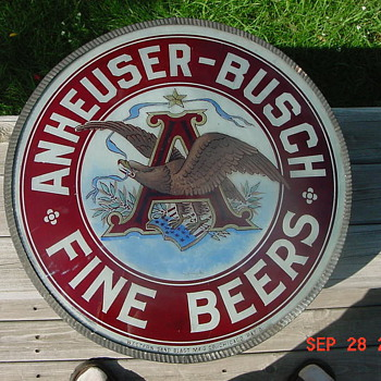 Budweiser sign - Breweriana