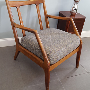 Mid Century Modern Lounge Chair from Grandparents