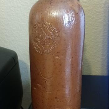 Gerolsteiner Antique Bottle