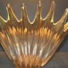 Vintage Gilded glass bowl