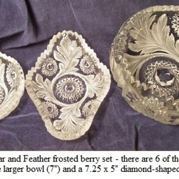 Millersburg Berry Set - Glassware
