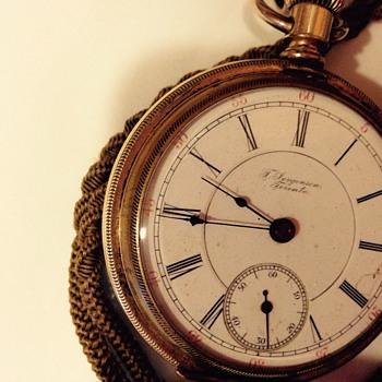 Jorgensen Toronto, Ontario pocket watch