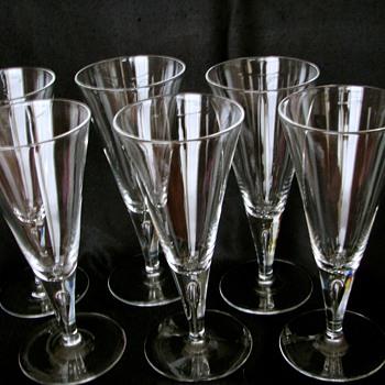 Steuben Goblets - Glassware