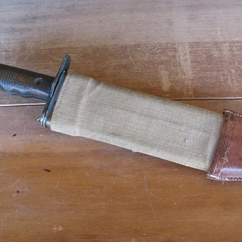 US M1917 BOLO Knife Mfg by American Cutlery Co  - Military and Wartime