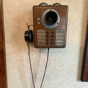 Western Electric Intercom (Early 1900's) - Electronics