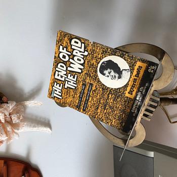 """1962 """"The End of the World"""" Sheet Music, Skeeter Davis - Music Memorabilia"""
