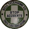 Bell Telephone Co. Stop Accidents