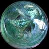 Caithness Art Glass Paperweight -- Scotland