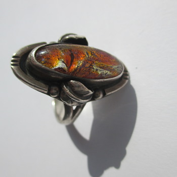 Silver ring marked Mexico - Fine Jewelry