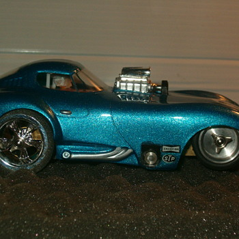 REVELL RIVERSIDE CHEETAH DRAG CAR 1/24TH KEMTRON CHASSIS - Model Cars