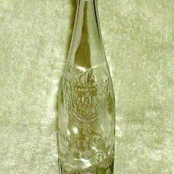 "1910's-1920's - ""Virginia Dare"" Wine Bottle - Bottles"
