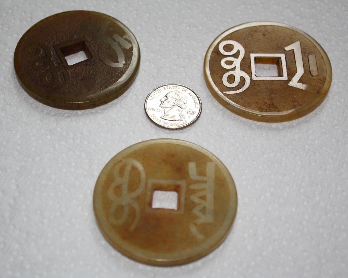 Antique chinese jade gambling chip tax on gambling winnings usa