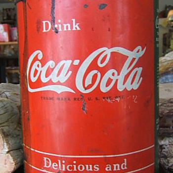 Coca Cola Tin Syrup Container - Coca-Cola