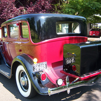 My 1933 Studebaker's trunk - Classic Cars