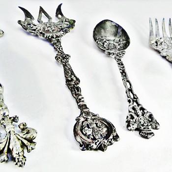 Sordini Italy Silver Set  - Silver