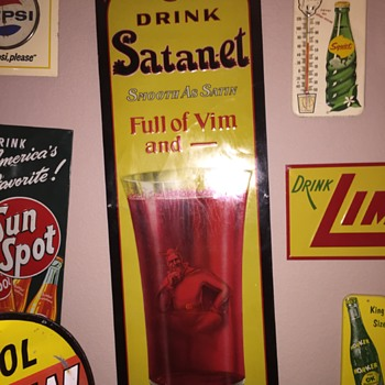 Satan-et Soda Sign