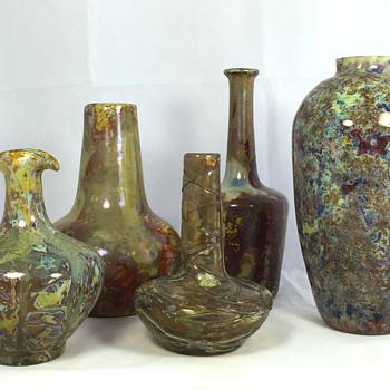 "Knizek ""Pandora Glass"" by Maximilian Boudnik. Circa 1900-1910 - Art Glass"