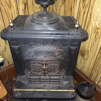 Antique Coal/Wood Stove by Standard - 1884 - Kitchen