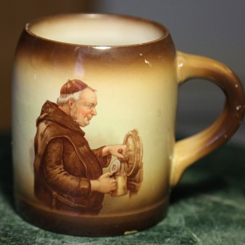 Tippling Monk Mug - Pottery