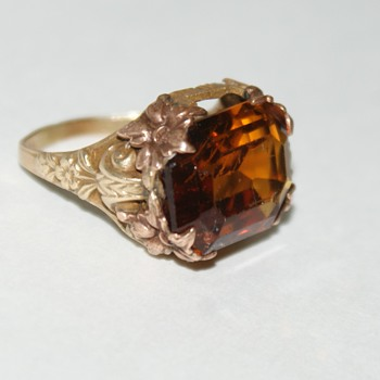 Old Costume Ring - Costume Jewelry