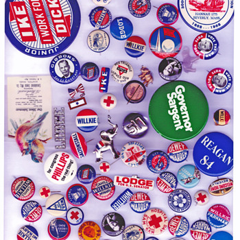 Republican  pins   - Medals Pins and Badges