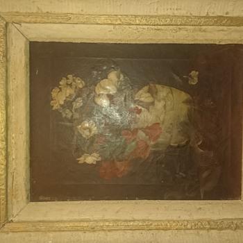 Early dutch school oil on canvas
