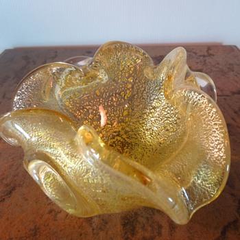 A Gold Beauty - Art Glass
