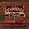 Bayuk Phillies perfecto -It's ripe tobacco tin box.
