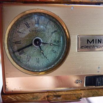Cyprus Mini Electronic travel clock - Clocks