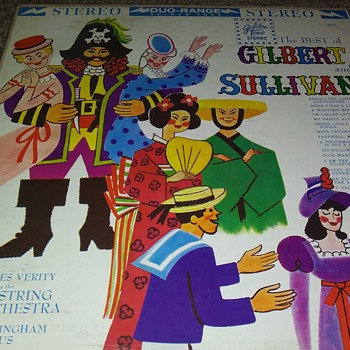 Let's Go To The Opera!!..Gilbert And Sullivan..On 33 1/3 RPM Vinyl - Records