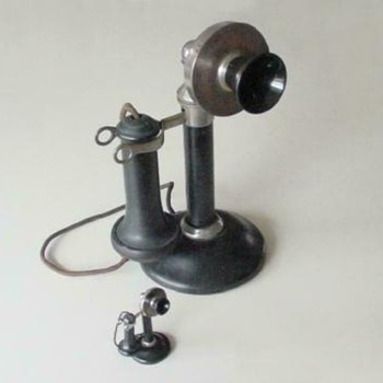 Stromberg Carlson Salesmans Sample Candlestick Telephone - Telephones
