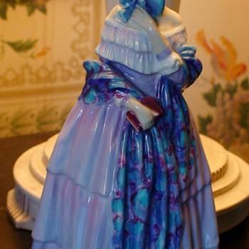 """Royal Doulton Leslie Harradine """"Christine"""" Figurine - Figurines"""