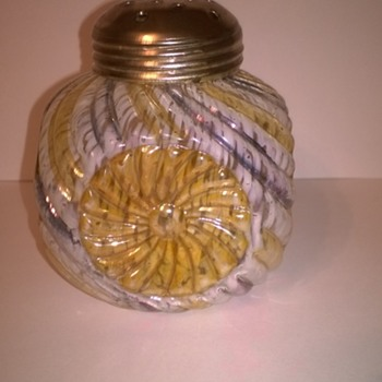 Unknown Sugar Shaker - Art Glass