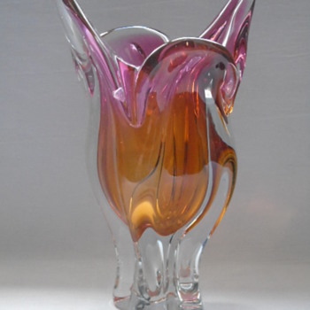Chribska Vase designer Joseph Hospodka - Art Glass