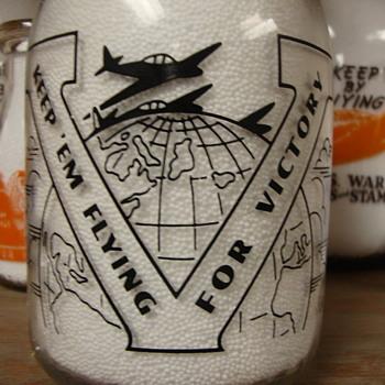 HAYS PURE MILK ....WAR SLOGAN MILK BOTTLE - Bottles