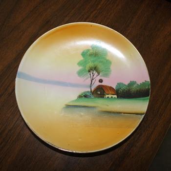 Hand Painted seaside scene - China and Dinnerware