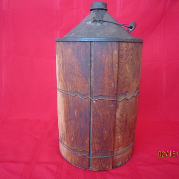 Late 1800's Standard Varnish Works Wooden Container - Tools and Hardware