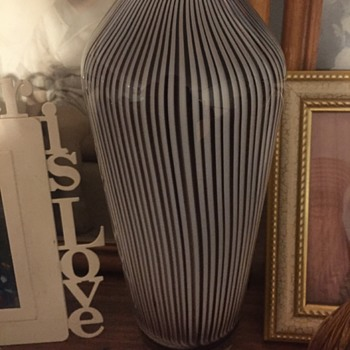 Peter Secrest Vase - Art Glass