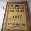 1921 HYSLOP BROS. TORONTO AUTO & GARAGE CATALOG