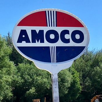 Amoco Gas - Signs